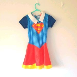 Cute Supergirl costume